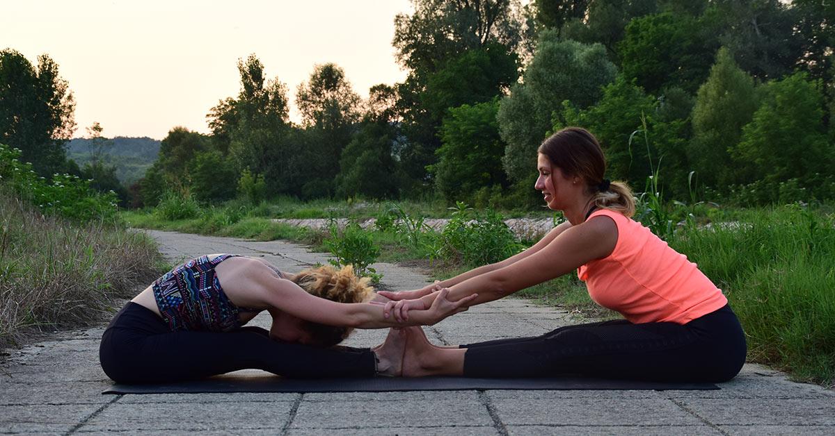 stipaljka joga poza